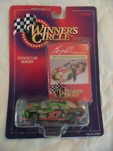 1997 WINNERS CIRCLE STOCK CAR SERIES 1/64 KENNY IRWIN FORD THUNDERBIRD G.I. JOE