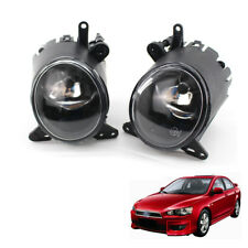 2x Fog Light Fit For Mitsubishi Lancer Clear W/ Bulb 08-12 High 09 11 Best