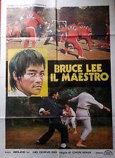 manifesto movie poster 2F bruce lee il maestro bruce li chin wah arti marziali