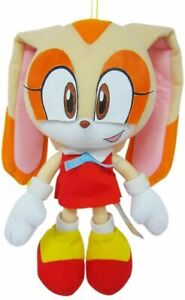 "Great Eastern Sonic The Hedgehog - Cream The Rabbit 7.5"" Inch Plush NEW - MOVIE"