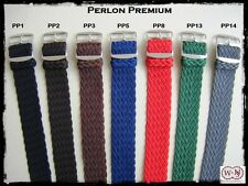 Cinturini Perlon Premium 18-20mm. Premium Perlon Vintage Straps.