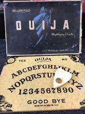 WILLIAM FULD Vintage OUIJA TALKING BOARD w/ Original Box + Planchette,