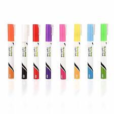 Alpine Industries Fluorescent Color Liquid Chalk Pen Markers Set of 8