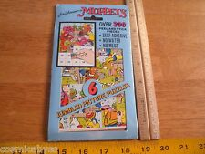 1994 The Muppets Peel and stick puzzles stickers MIP sealed #6