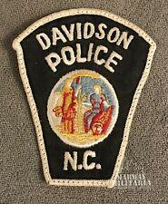 Early, DAVIDSON North Carolina Police Patch (22343)