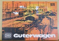 DB Guterwagen (Boxcar) 1978 Ausgabe (Output) German Text