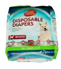 Simple Solution Disposable Dog Diapers for Female Dogs