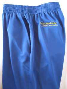 New! Bowlswear Men's Royal Blue Comfort Fit Trousers Only $47 with Free Postage!