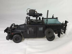 GI Joe Night Ops Humvee Elite Force Sunny Days Vehicle 1/18 Custom w Figure