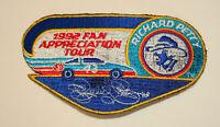 Richard Petty 1992 Fan Appreciation Tour NASCAR Racing Jacket Hat Patch New NOS