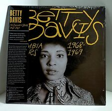 BETTY DAVIS The Columbia Years 1968-1969 VINYL LP Sealed MILES DAVIS