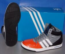 MENS ADIDAS COURT ATTITUDE in colors ORANGE / RUNNING WHITE / BLACK SIZE 10