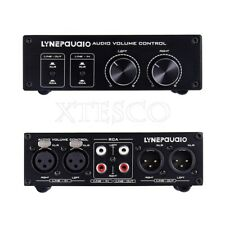 New listing Fully Balanced Passive Preamp Active Speaker Volume Control 2 Input & Output xs*