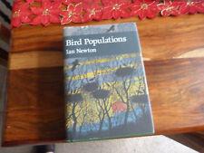 NEW NATURALIST BIRD POPULATIONS HARDBACK