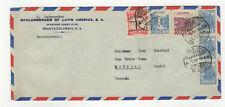 Colombie 6 timbres sur devant de lettre 1948 tampon Villa Vicencio /FDCag8