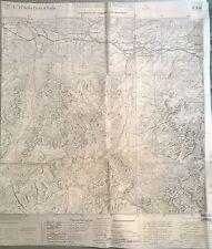 CART.GEOGRAF.DI GUERRA - PASSO MOISTROCCA - F°. 14 DELLA CARTA D'ITALIA - N. 24