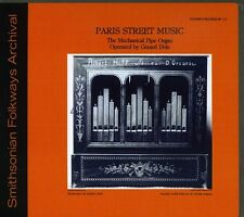 Paris Street Music-The Mechanical Pipe Organ - Gerard Dile (2009, CD NIEUW) CD-R