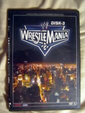 WRESTLEMANIA 22 DISK-3 DVD ONLY