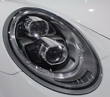 Porsche OEM 991 Carrera 4S S Targa Turbo LED Black-Line Headlamps Brand New