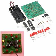 Circuit DIY Kit 10 LED Flash Light  Kit Electronic Wheel of Fortune Game Decor
