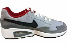 Júnior Nike Air Max St (GS) 654288 007 Gris/Negro/Rojo Talla: GB 5.5