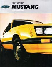 1982 82 Ford Mustang original sales brochure