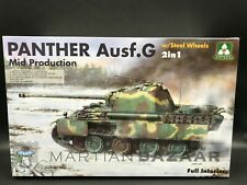 Takom 1/35 Panther Ausf. G Mid Production w/ Steel Wheels & Full Interior 2120