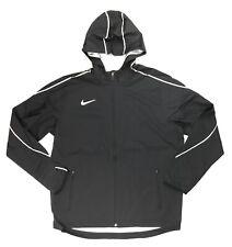 Nike Running Woven Jacket Zippered Pockets Reflective Women's M AJ3657 Black