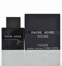 Lalique Encre Noir Eau De Toilette EDT 3.3 oz 100 ml For Men Spray NEW SEALED