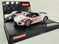 Slot Car Scalextric Carrera Evolution 27477 Porsche 918 Spyder #3