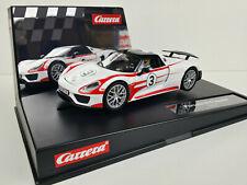 slot car Scalextric Carrera Evolution 27477 Porsche 918 Spyder #3