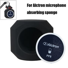 1X Sound Absorbing Sponge Durable Fit For Alctron PF8 Microphone Acoustic Black