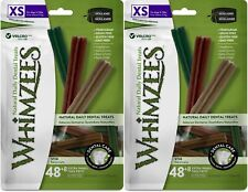 New listing (2 Pack) Whimzees Stix Grain-Free Dental Dog Treats, 56Extra SmallEach