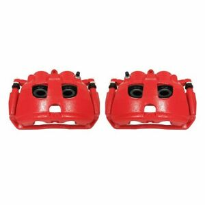 PowerStop for 09-10 Dodge Ram 2500 Rear Red Calipers w/Brackets - Pair