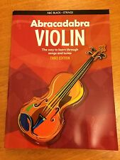 Abracadabra violín * Nuevo *