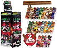 (25x2) Juicy Hemp Wrap Blunt Bulk Lot Flavour Cigarette smoking rolling paper