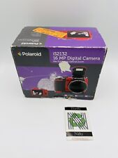 Polaroid iS2132 16.0MP Digital Camera - Red (IS2132-RED)