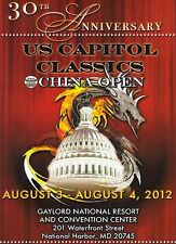 2012 U. S. Capitol Classics and China Open Karate Tournament