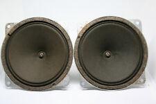 TWEETER #ISOPHON #AlNiCo #1950's #SPEAKER MINT CONES  PAIR 10 cm VINTAGE HORN