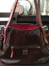 dooney bourke handbags large.Authentic Leather And Vinyl