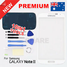 OZ A Samsung Galaxy Note 2 N7100 N7105 Outer Glass Lens Screen Replacement White