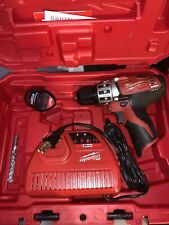 Milwaukee M12 Drill with Batteries/charger and Hard Case (2410-22)  🐢