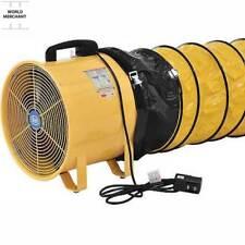 Commercialindustrial Ventilationfan 16 32 Ft Duct Portable Crawlspace Garage