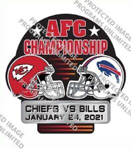 2021 BUFFALO BILLS KANSAS CITY CHIEFS AFC CHAMPIONSHIP PIN NFL SUPER BOWL LV ?
