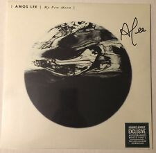 AMOS LEE MY NEW MOON LP WHITE VINYL AUTOGRAPHED SIGNED COVER WITH DOWNLOAD