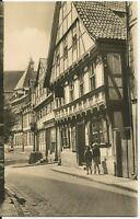 Ansichtskarte Stolberg - alte Fachwerkhäuser - 1960 - schwarz/weiß