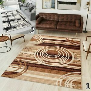 TAPISO BEAUTIFUL BEIGE GREY MODERN RUGS TOP DESIGN ! CARPETS Different Sizes