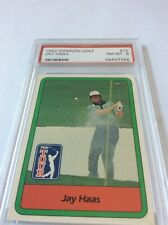 1982 Donruss Golf Jay Haas #15 PSA 8
