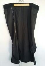 Taking Shape black pinstripe long skirt plus size 22 work formal ruched