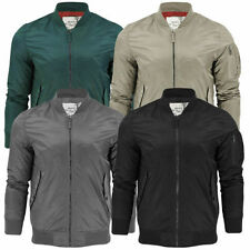 Brave Soul Nylon Funnel Neck Coats & Jackets for Men